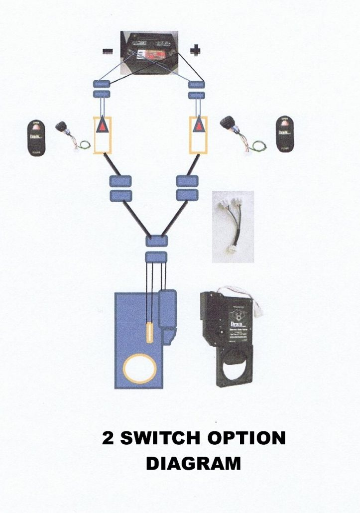 diagram for installing a second switch for your rv dump valve