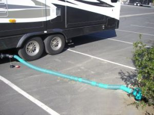 rv sewer hose - gray tank