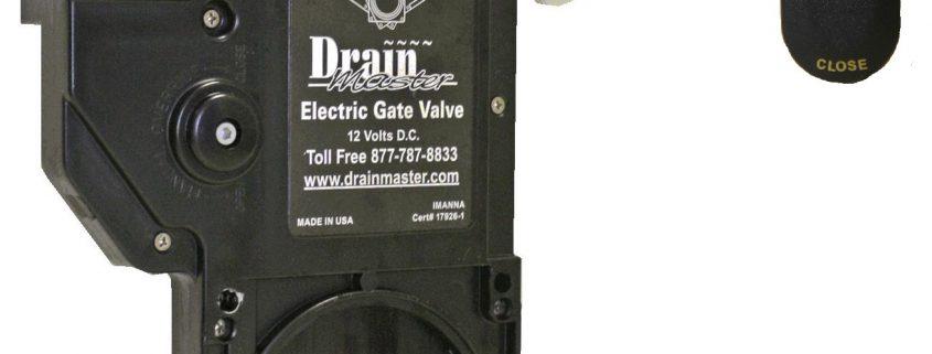 Drain Master RV Waste Valve - RV gate valve