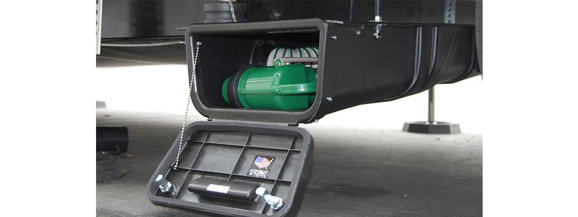 RV Sewer Hose Storage System- Waste Master