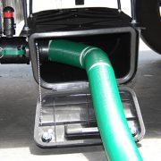 waste master sewer hose storage on 5th wheel