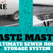 Waste Master Ultimate Sewer Hose Storage Sysem